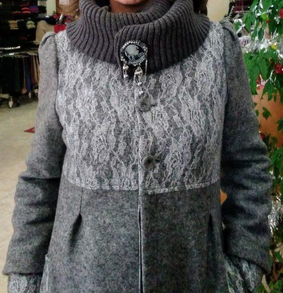 abrigo mujer Paz Torras