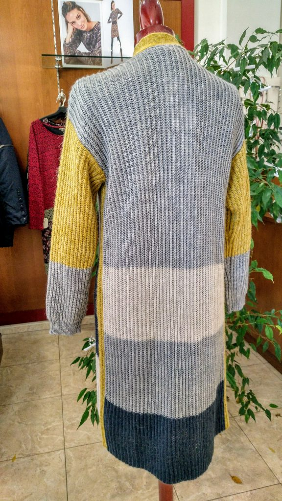 chaqueta mujer tricolor