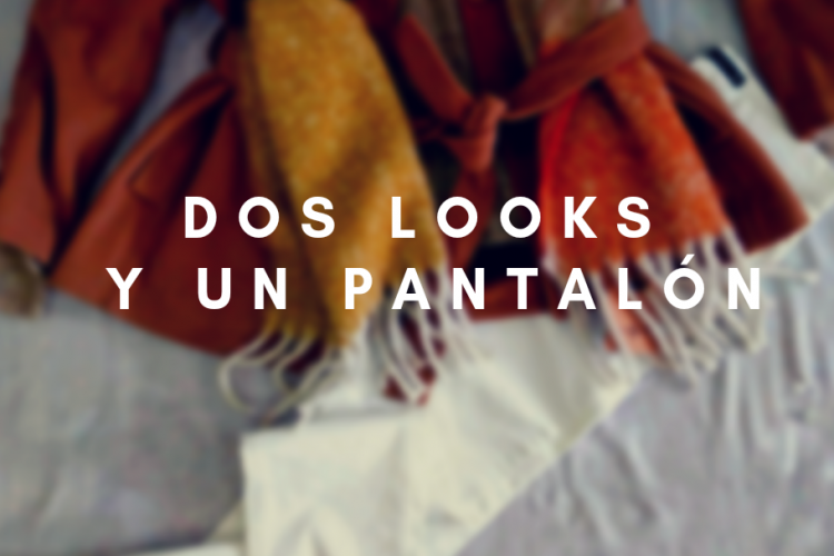 Dos looks y un pantalón
