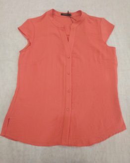 camisa naranja Paz Torras