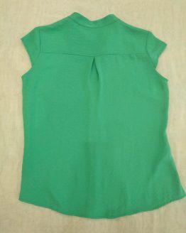camisa verde Paz Torras