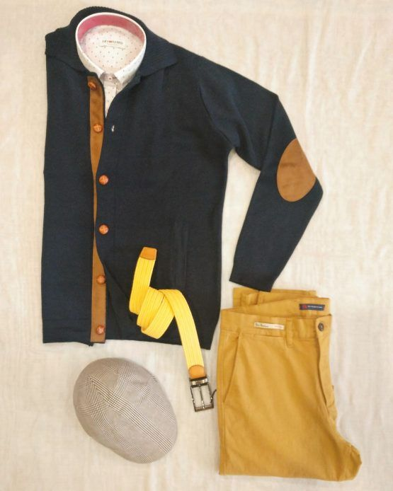 chaqueta marino hombre