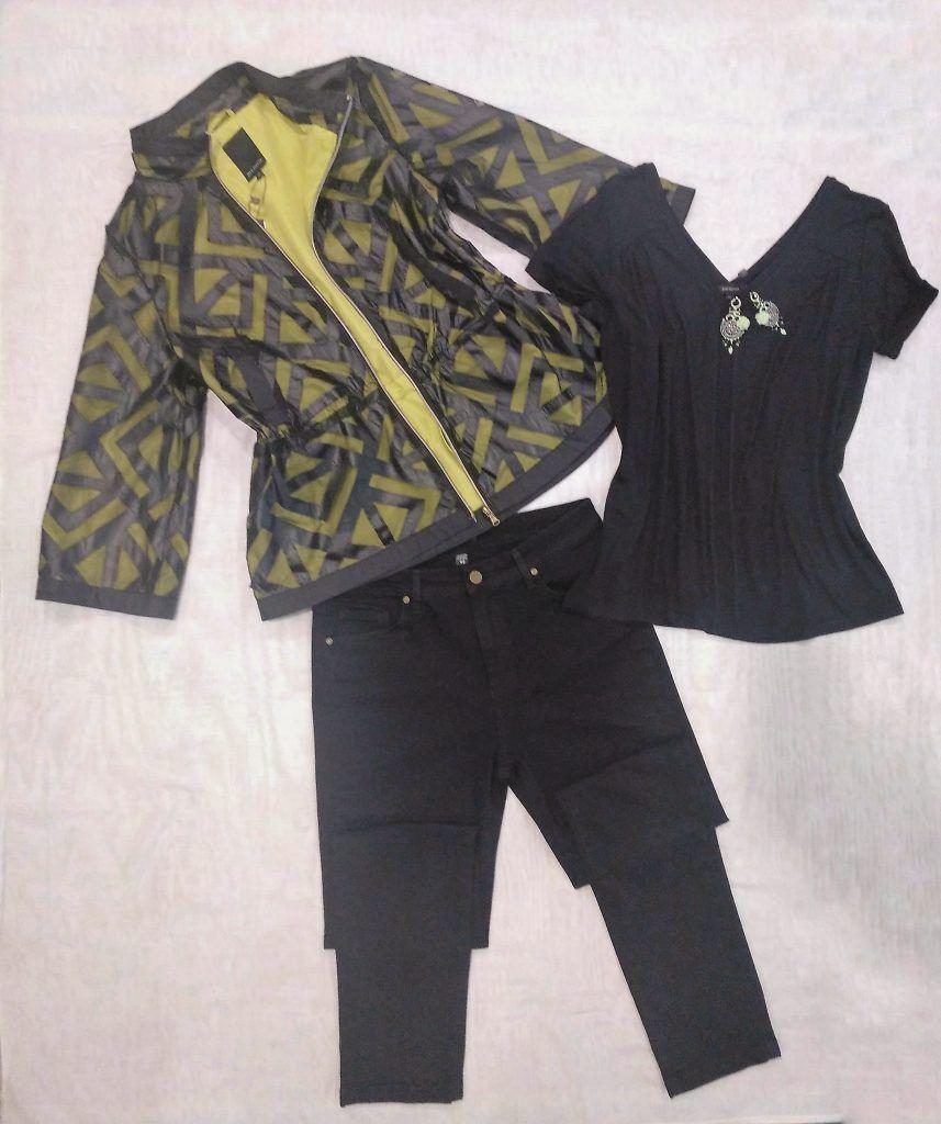 chaqueta troquelada de Paz Torras