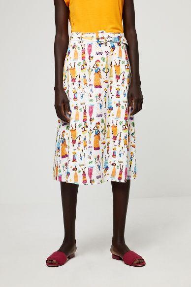 falda surkana estampado etnico