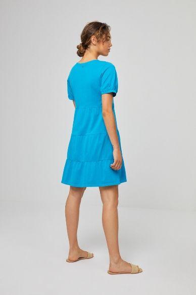 vestido surkana turquesa