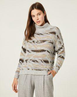 jersey mujer paz torras gris